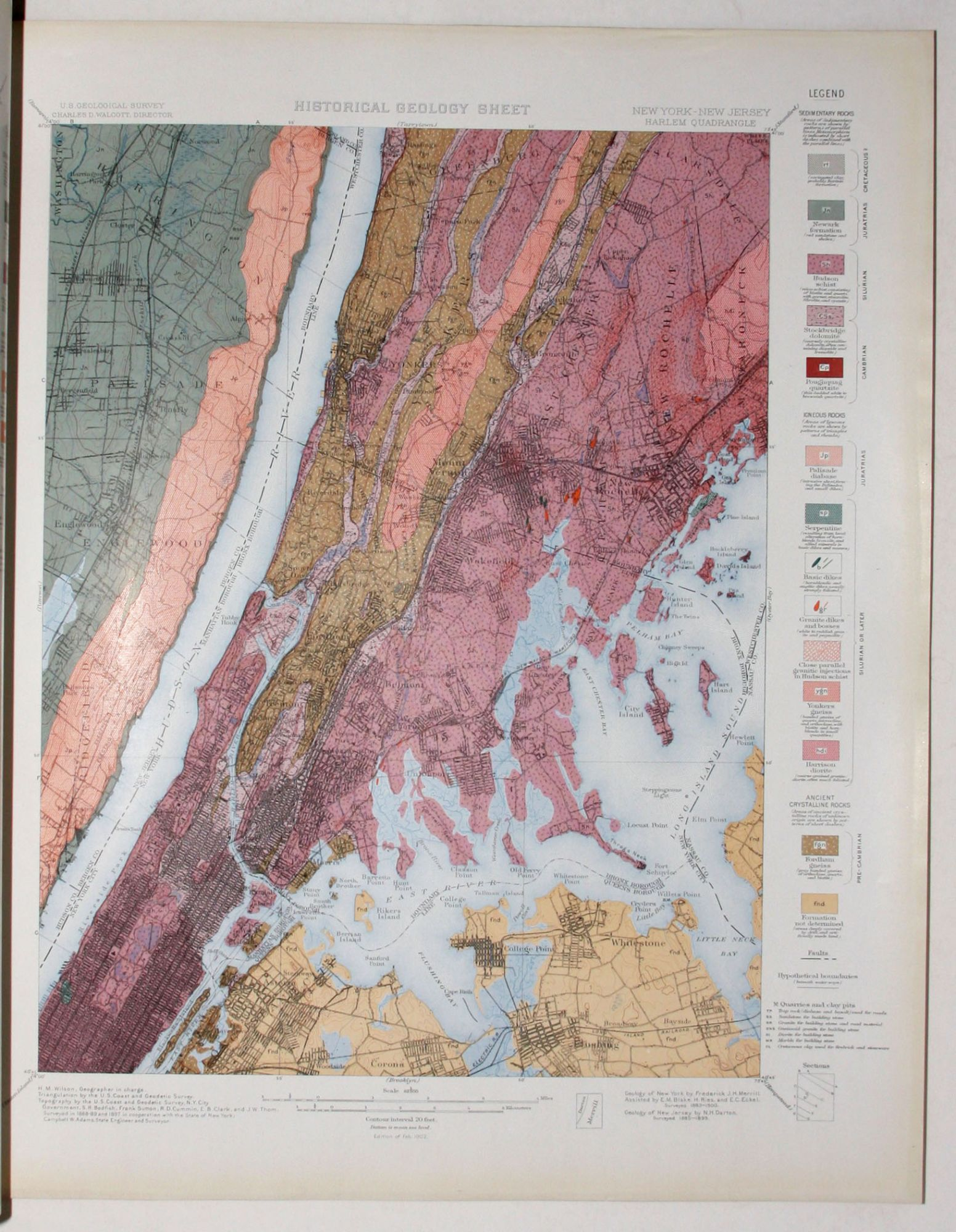 Geologic Atlas Of The United States New York City Folio Paterson ...