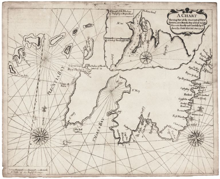 Remarkable A Chart Shewing Part Of The Sea Coast Of Newfoundland From The Bay Schematic Wiring Diagrams Phreekkolirunnerswayorg
