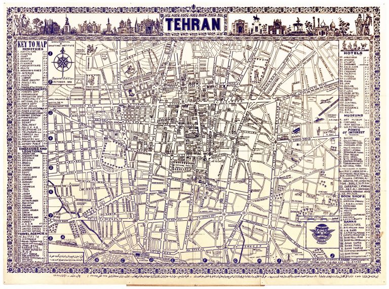 TEHRAN by Abbas SAHAB on Martayan Lan on grid map, wellington map, parallels on a map, general purpose map, world map, physical map, native alaskan language map, usa map, international border on a map, council of trent map, parts of a map, locator map, five elements of a map, breslau germany map, formosa on an asian map, scale on a map, elevation map, edinburgh postcode map, calgary canada map, political map,