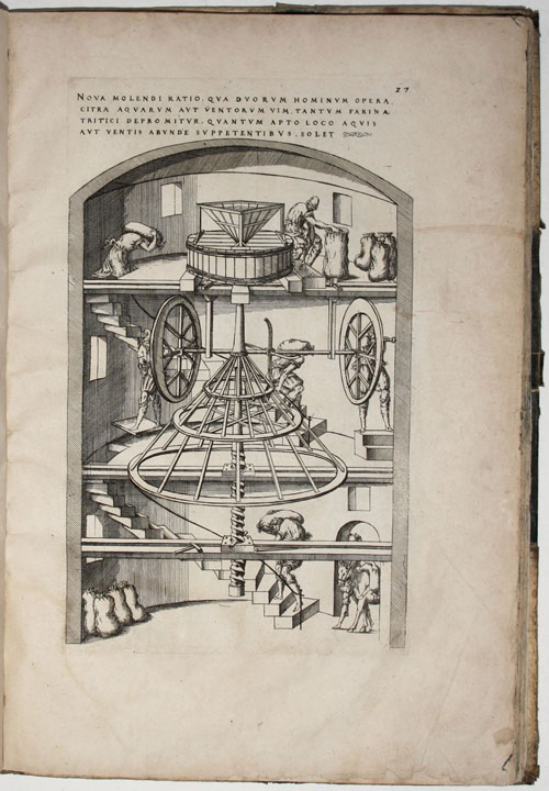 Theatrum instrumentorum et Machinarum. Jacques BESSON.