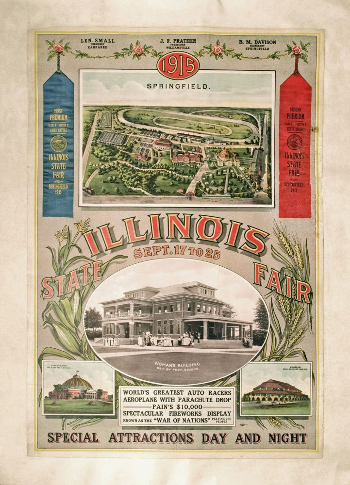ILLINOIS STATE FAIR SEPT. 17 TO 25. ANONYMOUS.