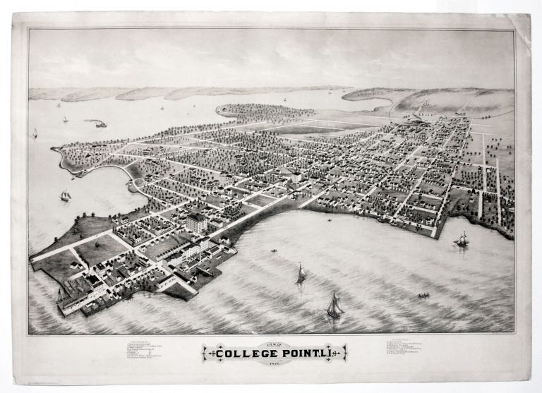 View of College Point, L.I. 1876. T. M. FOWLER.