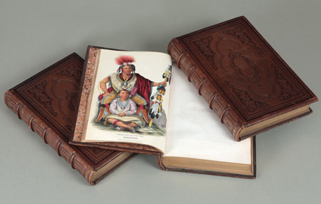 History of the Indian tribes of North America: with biographical sketches and anecdotes of the principal chiefs; embellished with one hundred and twenty portraits. Thomas Loraine / HALL MCKENNEY, James.