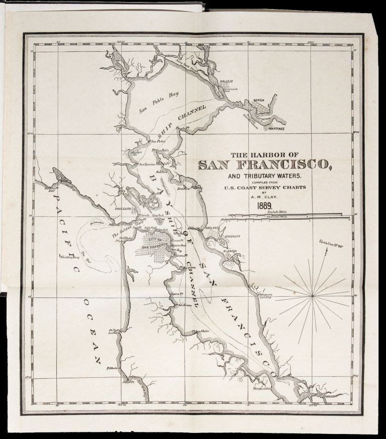 North Pacific Coast Ports. Compliments of J. D. Spreckels & Bros. Co. Frederick S. SAMUELS.