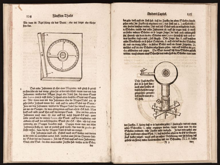 Ein begründter und verständiger Bericht von dem Feldmessen wie man Aecker, Wisen, Gärten, Höltzer, Weyer, und andere Grundstuck…. SURVEYING, SCIENTIFIC INSTRUMENTS, ANONYMOUS.