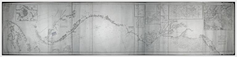 Coast Of North America from Point Judith to Cape St. Antonio. (Island Of Cuba) Including The Bhama Banks… Every Authentic Survey, American, English & Spanish, Has Been Used In The Construction Of This Chart…. Charles/ BLUNT COPLEY, E., G. W.