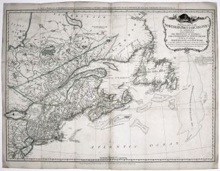 A General Map Of The Northern British Colonies In North America.... [Title above top border:] The...