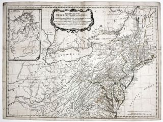A General Map of the Middle British Colonies… [Second title above top border: The Seat of War...