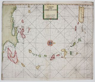 A Chart of the Caribe Islands. J./ Mount Thornton, T., W.& J./ Page