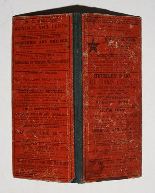 1885.-Railroad Map And Business Guide in Book Form.-1886.Embracing the Principal Manufacturers, Trades and Representative Business House of Utica, Rome Camden..and Schenectady