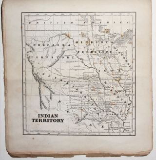 The Cerographic Missionary Atlas… [Imprint inside front cover:] Entered according to Act of Congress, in the year 1848, By Se. E. Morse & Co.,…