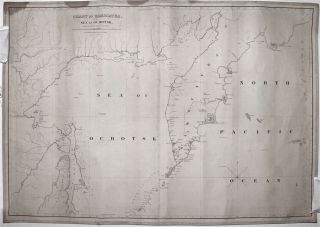 Chart of Kamscatka, And The Sea Of Ochotsk, Copied from the best Russian Authorities…. W. C. TABER, SON.