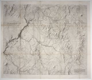 Map of Explorations And Surveys In New Mexico And Utah…. Capt. J. N./ VON EGLOFFSTEIN MACOMB,...