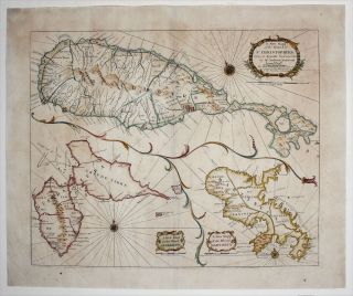A New Mapp of the Island of St Christophers being an Actuall Survey…/ A New Mapp of the Island...