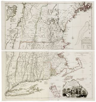 A Map of the most Inhabited part of New England… [Second title:] La Nouvell Angleterre en 4...