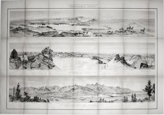 Two Sheets: Parts Of Western Wyoming And Southeastern Idaho. with: Panoramic Views