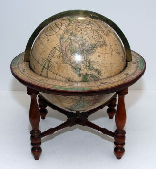 Joslin's/ TERRESTRIAL GLOBE/ containing all/ THE LATEST DISCOVERIES/ AND/ Geographical Improvements,/ also the Tracks of/ the most celebrated circumnavigators./ Compiled from Smith's New English Globe, with/ additions and improvements by Annin & Smit. Gilman/ BOYNTON JOSLIN, G. W.