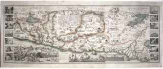 A New Map of the Land of Promis And The Holy City Of Jerusalem Describing the most important...