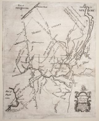 Map No II Laid down by a Scale of five Miles to an Inch. James / EVANS ALEXANDER, James, Lewis/...