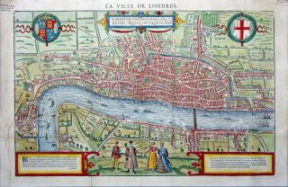 La Ville de Londres. F. BELLEFOREST