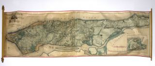 Sanitary & Topographical Map of the City and Island of New York. Egbert L. VIELE.