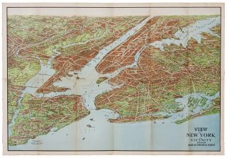 View of New York and Vicinity Showing Good Automobile Roads. G. J. NOSTRAND