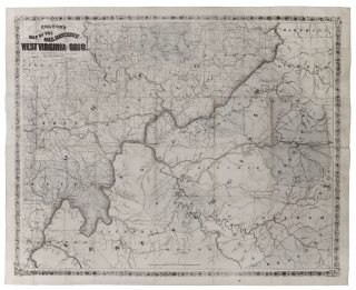 Colton's Map of the Oil District of West Virginia and Ohio. J. H. COLTON