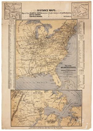 Distance Maps. Map of the Atlantic States…. L. PRANG, CO