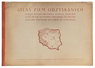 Atlas Ziem Odzyskanych/ Atlas Of The Recovered Territories Of Poland. Jozefa ZAREMBY.