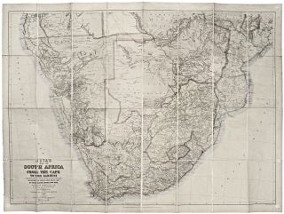 Juta's Map of South Africa From The Cape To The Zambezi.