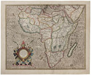Africa Ex magnus orbis terre descriptione Gerardi Mercatories desumpta. Studio & industria G.M....