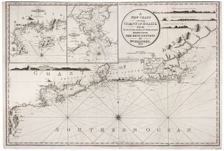 A New Chart Of The Coast Of Brazil From St. Ann's Islands to St. Sebastian…. William HEATHER