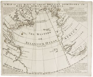 A Map of the King of Great Britain's Dominions in Europe, Africa and America. E. BOWEN.