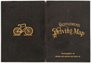 Gentlemen's Driving Map Showing The Park System Of Boston…First Edition