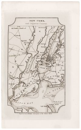 New -York, and Adjacent Country. J. MELISH