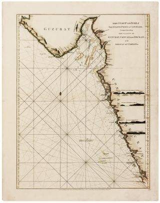 The Coast of India from Gyants Point to Cape Rama, Comprehending the Coasts of Guzurat, Concan...