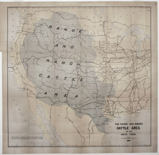 The Range and Ranch Cattle Area of the United States. Joseph NIMMO.