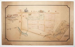 Map of Echo Park The property of Richar N. Herring Situated At Chews landing Camden Co. N. J....