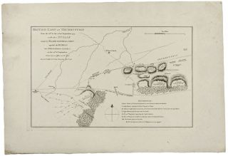 British Camp at Trudruffrin from the 18th. To 21st. of September 1777. with the Attack made by...