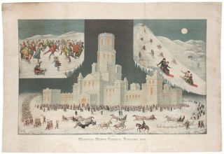 February 1884 Montreal Winter Carnival, Ice Palace