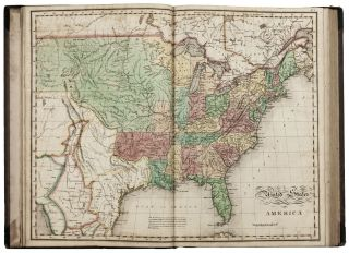 A Complete Historical, Chronological, And Geographical American Atlas, being a guide to the...