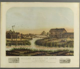 Wolf's Point in 1833. Rufus / SHOBER BLANCHARD, George, Charles / DAVIS, publisher, lithographer,...