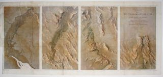 Map No. 1 Rio Colorado Of The West…14 ½ x 34 5/8 inches. [With:] Map No. 2 Rio Colorado Of...