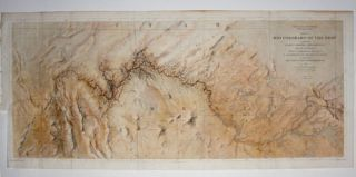 Map No. 1 Rio Colorado Of The West…14 ½ x 34 5/8 inches. [With:] Map No. 2 Rio Colorado Of The West…