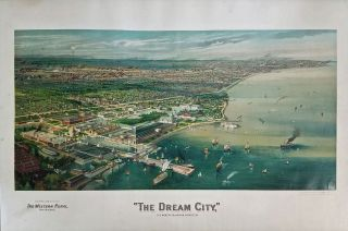 """The Dream City,"" The World's Columbian Exhibition. AMERICAN FINE ART COMPANY"