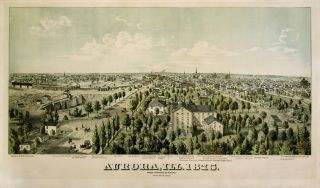 Aurora, Ill. 1875 from Jennings Seminary. MASON, RICHARDS
