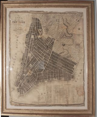 Plan of the City of New-York. The greater part from actual survey made expressly for the...