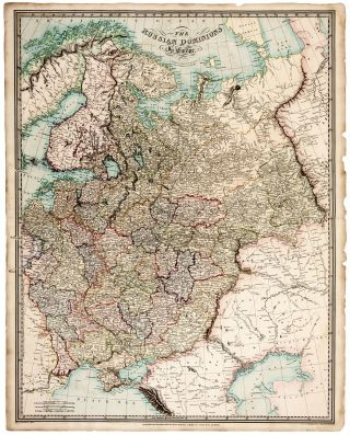 The Russian Dominions in Europe. R. HOLMES LAURIE.