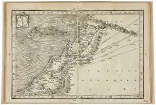 The Complete Suite of Eight sequentially numbered double-page woodcut maps of the Eastern Mediterranean and Scandinavia from Ziegler's Quae intus continentur …