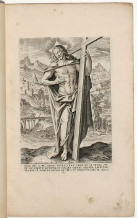 The Apostles (with Christ and Saint Paul). Antonius II /DE VOS WIERIX, Ambrosius, Maarten / FRANCKEN